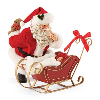 "Possible Dreams Santa - ""All Snug In The Sled"""