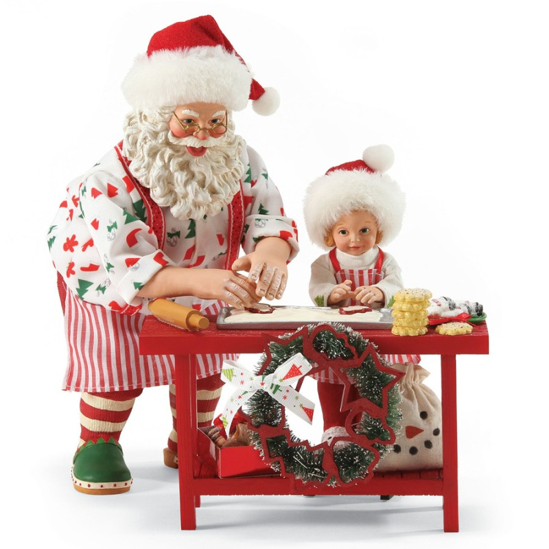 "Possible Dreams Santa - ""Homemade Cookies"" - Set of 3"