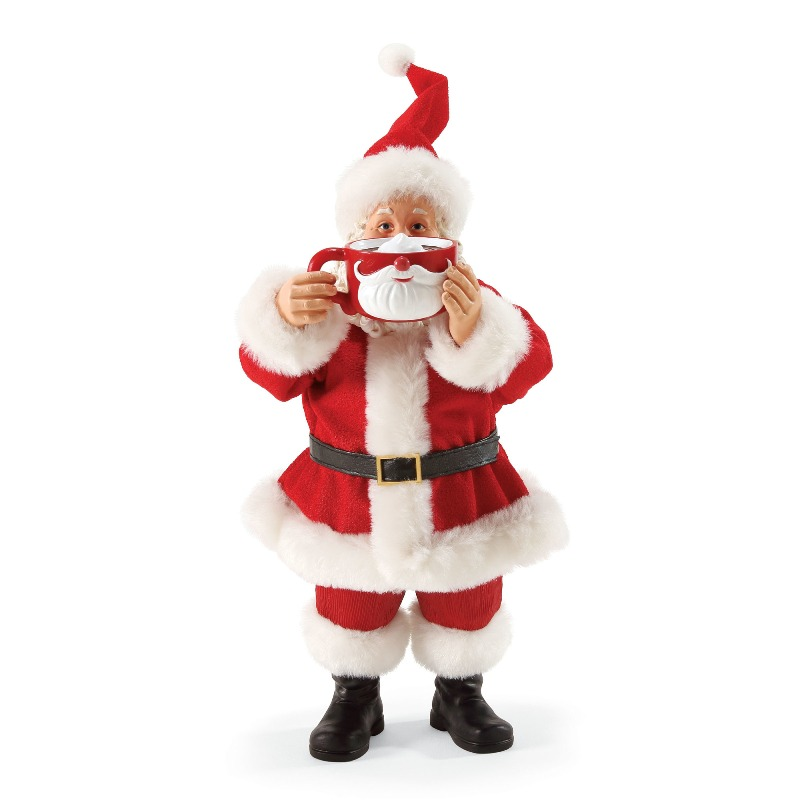 "Possible Dreams Santa - ""Mugstache"""