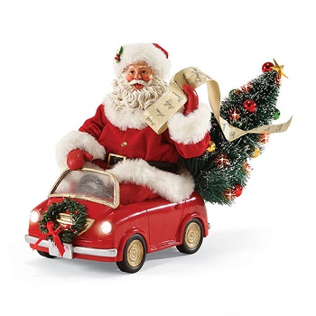 "Possible Dreams Santa - ""Smart Car Santa"""