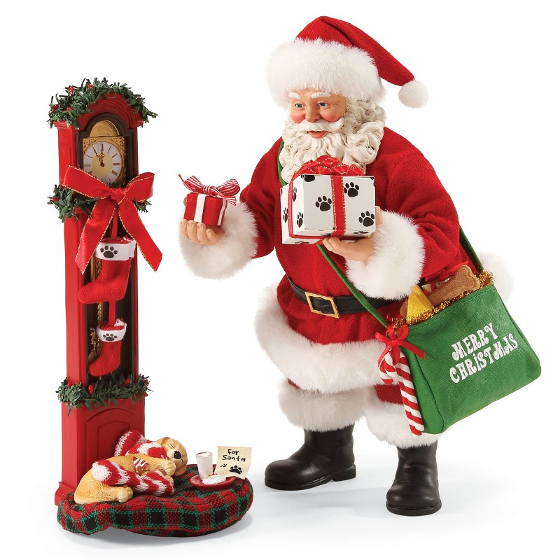 "Possible Dreams Santa - ""Waiting For Santa"" - Set of 2"