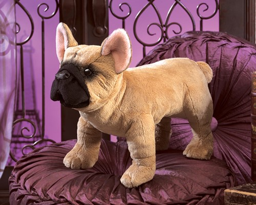 "Puppet - ""French Bulldog Hand Puppet"""