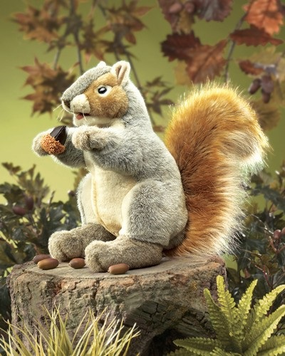 "Puppet - ""Grey Squirrel Hand Puppet"""