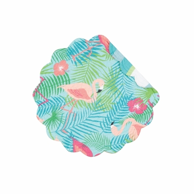 Quilted Reversible Placemat - Isla Tropics - 17in