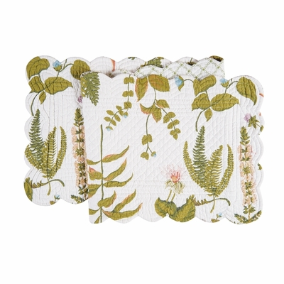 Quilted Reversible Table Runner - Anessa - 51in