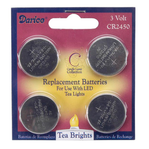 "Replacement Button Cell Batteries - ""CR2450"""