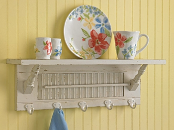 "Shelf - ""Southport Shutter Shelf"" -  White"