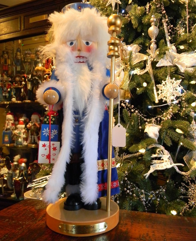 "Steinbach Nutcracker - ""Arctic Santa"" - 23rd in the Christmas Legends Series"