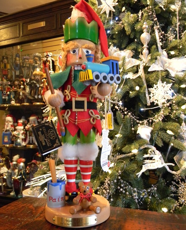 "Steinbach Nutcracker - ""Elf"" - 2nd in the North Pole Series"