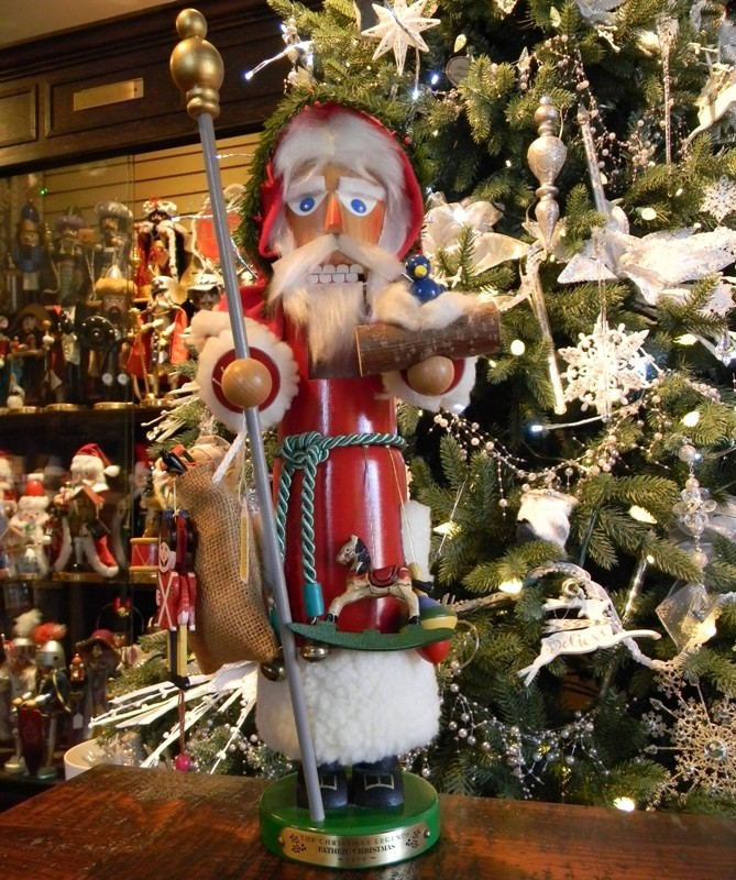 "Steinbach Nutcracker - ""Father Christmas Nutcracker"""