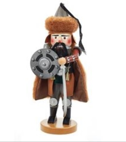 "Steinbach Nutcracker - ""Genghis Khan Nutcrakcer - 2nd In Warrior Series"""