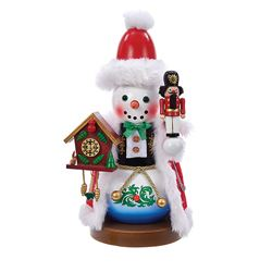 "Steinbach Nutcracker - ""German Snowman Nutcracker 2nd In The Snowman Series"""