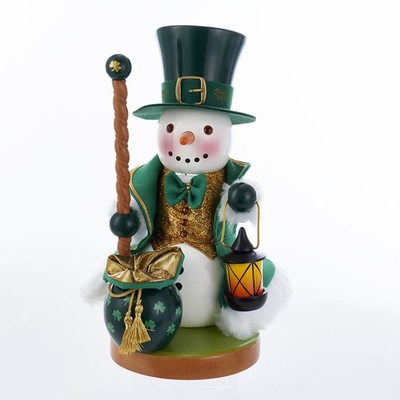 "Steinbach Nutcracker - ""Irish Snowman Nutcracker"""