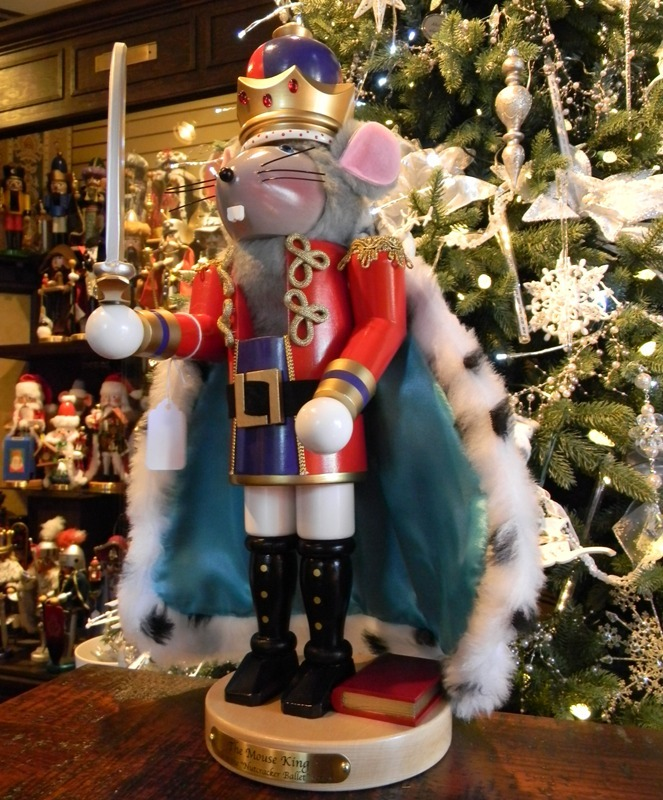 "Steinbach Nutcracker - ""The Mouse King"" -4th in the Nutcracker Ballet Series"