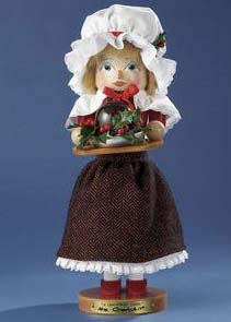 "Steinbach Nutcracker  - ""Mrs Cratchit Nutcracker -  10th in the Christmas Carol Series"""