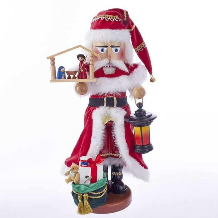 "Steinbach Nutcracker - ""Nativity Santa Nutcracker"" - Musical"