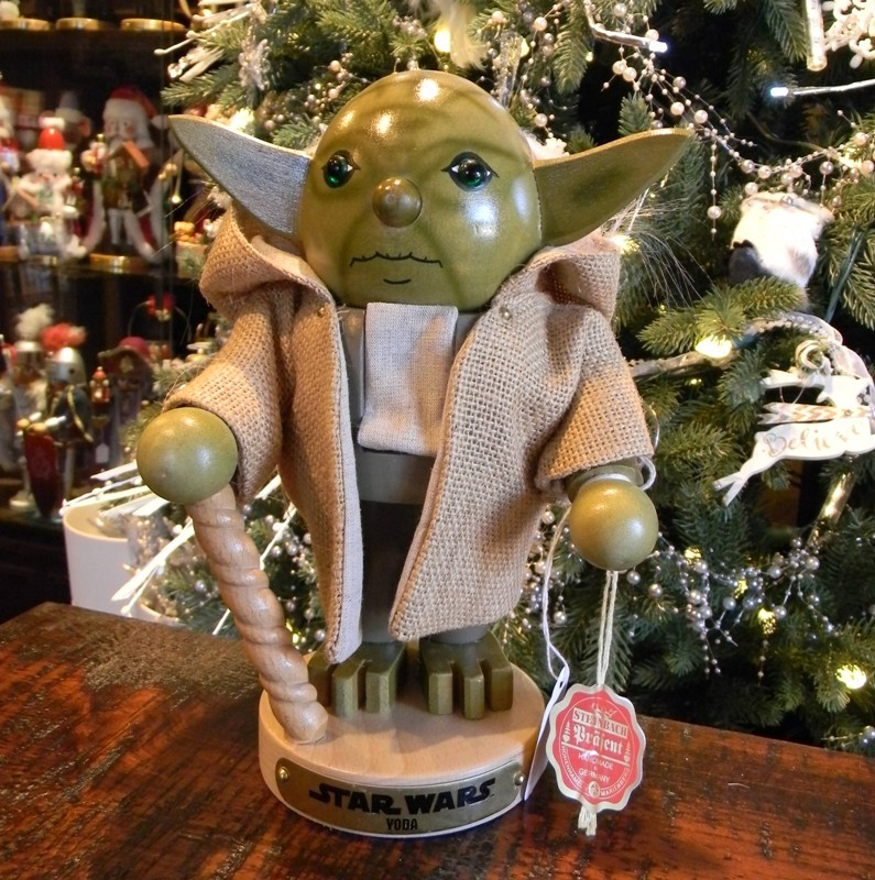 "Steinbach Nutcracker - ""Star Wars Yoda Nutcracker"""