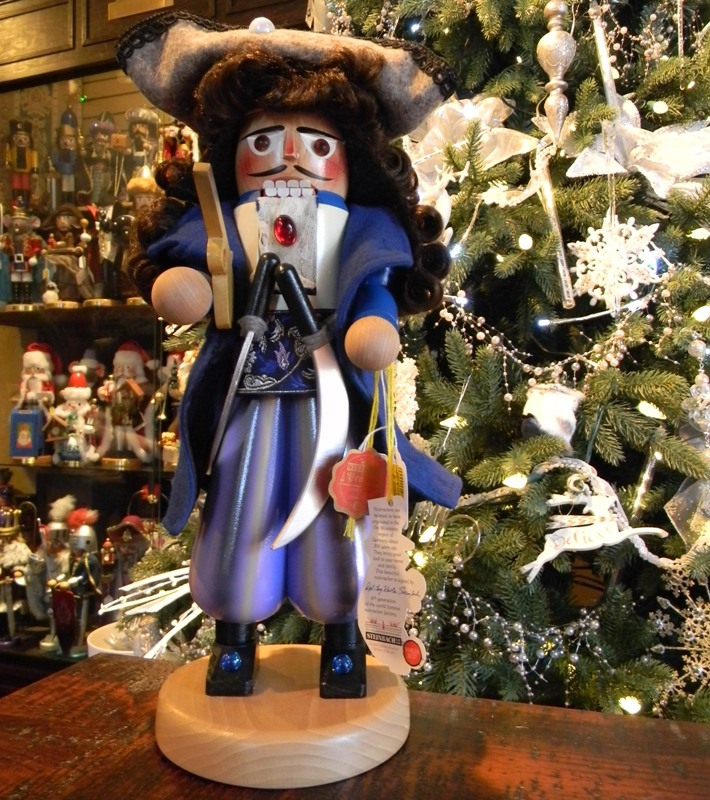 "Steinbach Nutcracker  - ""Steinbach Pirate Captain Nutcracker"""