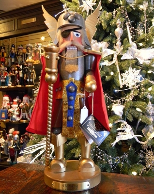 "Steinbach Nutcracker - ""Viking Nutcracker"" - 1st In Warrior Series"
