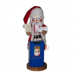 "Steinbach Nutcracker - ""Yes Virginia There Is  A Santa  Nutcracker"""