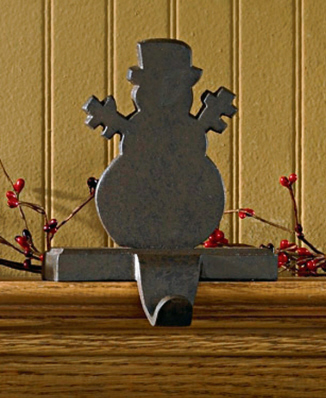 "Stocking Holder - ""Snowman Stocking Holder"""