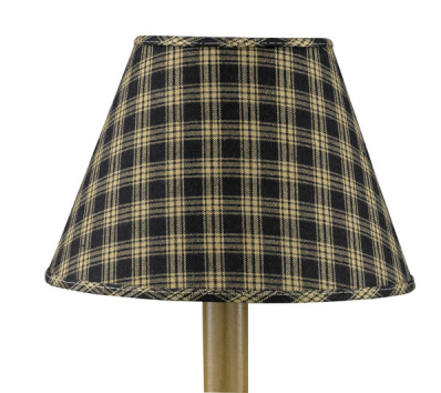 Sturbridge Lamp Shade  - Black - 10""