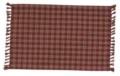Sturbridge Tablerunner - Wine - 36""