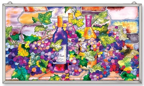 "Suncatcher Panel - ""Wine Cellar Panel Suncatcher"""