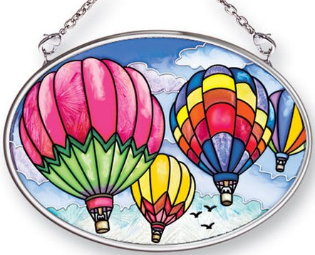 "Suncatcher - ""Up And Away Oval Suncatcher"""