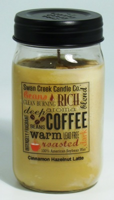 Swan Creek Candle - Cinnamon Hazelnut Latte - 24oz