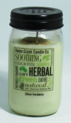 Swan Creek Candle - Olive Verbena - 24oz