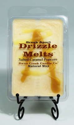 "Swan Creek Candle Drizzle Melts - ""Salted Caramel Popcorn"""