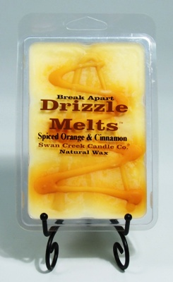 "Swan Creek Candle Drizzle Melts - ""Spiced Orange & Cinnamon"""