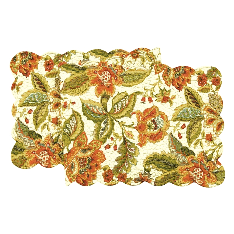 Quilted Reversible Table Runner - Amelia - 51in
