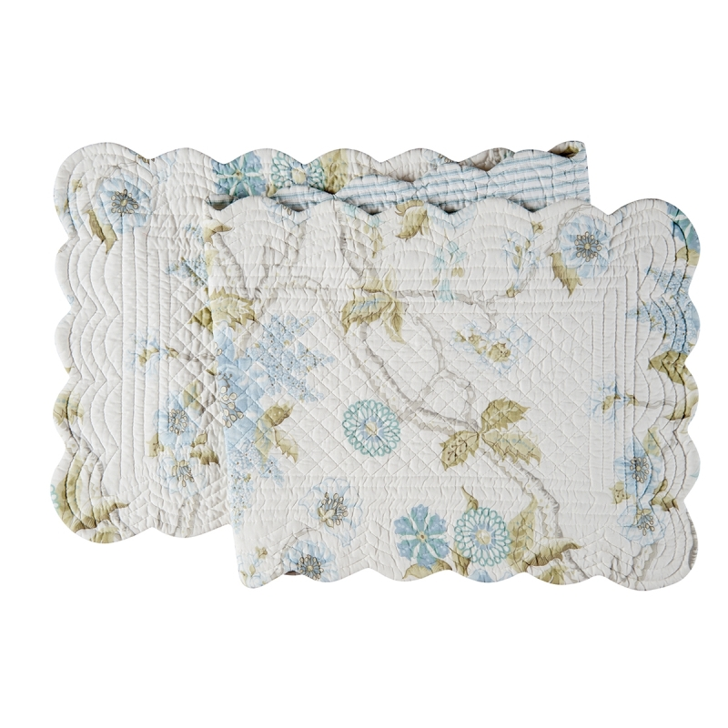 Quilted Reversible Table Runner - Jesamine - 51in