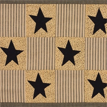 "Table Runner - ""Primitive Star Table Runner"" - 36"""