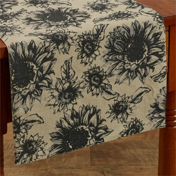 "Table Runner - ""Sunflower Garden"" - 54"""