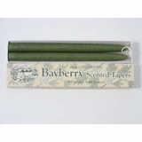 Tapered Candles - Bayberry - Boxed Pair - 10in