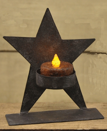 "Tea Light Holder - ""Whimsical Star Tea Light Holder"""
