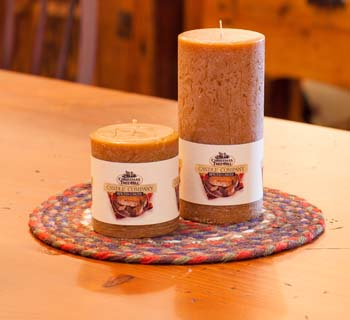 """Textured Colonnade Candles - """"Spiced Cake Fragrance"""""""