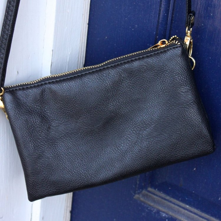 The C.T. Hill Crossbody Purse - Black