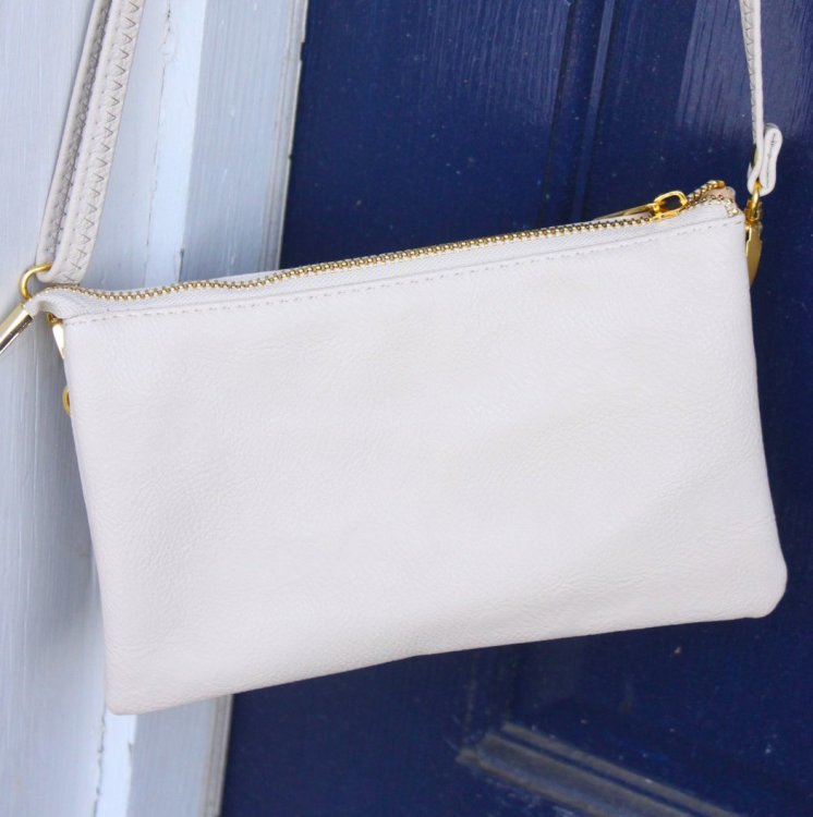 The C.T. Hill Crossbody Purse - Cream