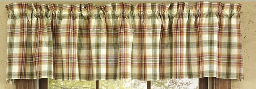 "Valance  - ""Lemon Pepper Valance""   - 72"" x 14"""