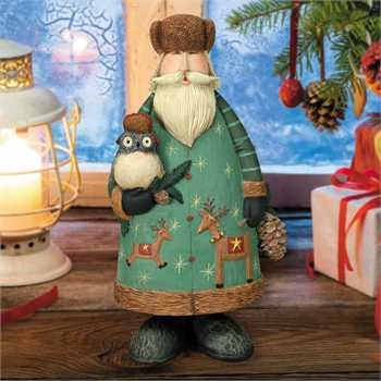"Williraye Studio - ""Magical Woodland Santa"""