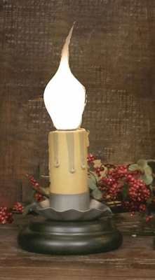 """Window Candle - """"Electric Charm Candle Light - 2 inch Black"""""""