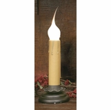 Window Candle - Electric Charm Candle Light - 4 inch Black
