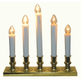 "Window Light - ""5 Light Electric Candelabra Window Candle"""