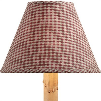 York Lamp Shade - Wine  - 10 inches