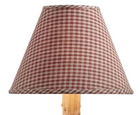 York Lamp Shade - Wine  - 12 inches