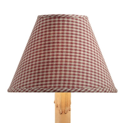 York Lamp Shade - Wine - 6 inches